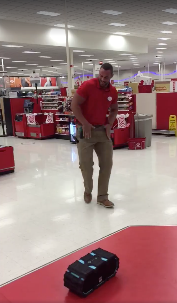 BOSS gives his team the gift of DANCE
