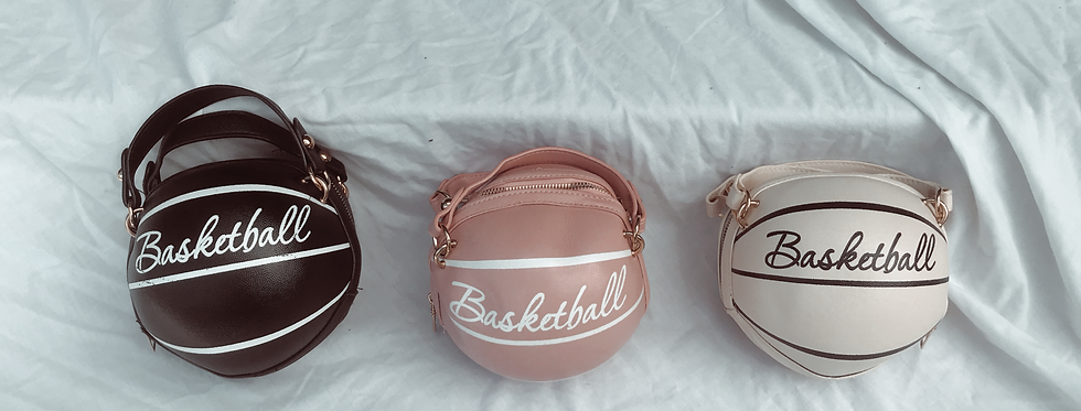"""IN THE PAINT"" Basketball Handbag"