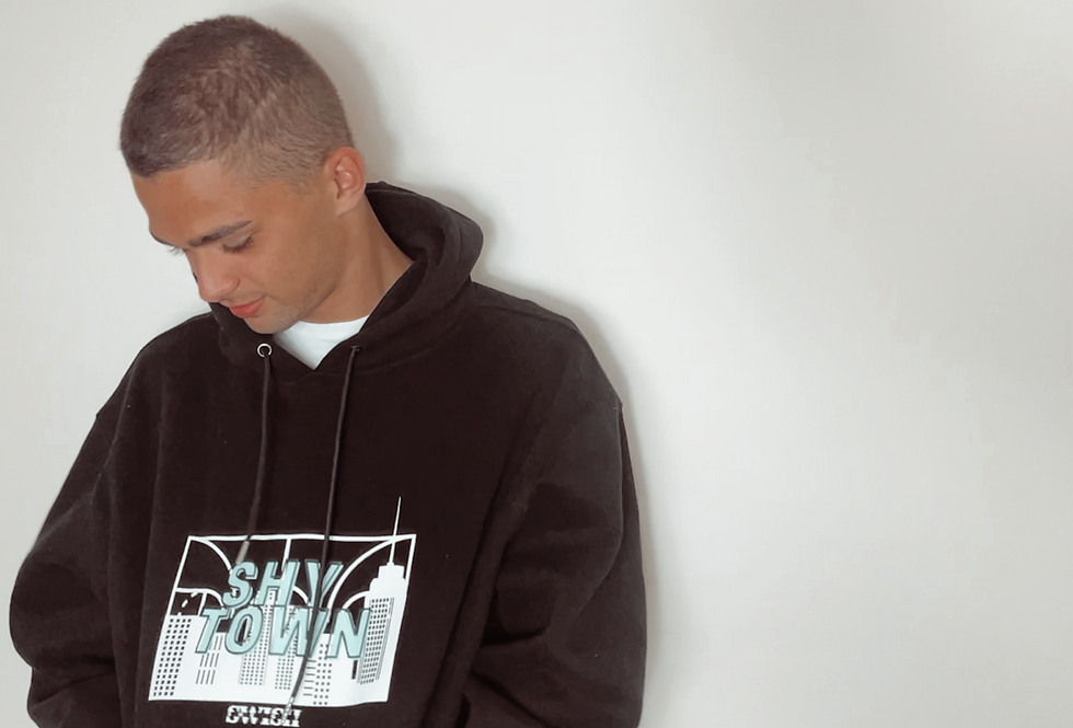 The 'SHY TOWN' Oversized Hoodie