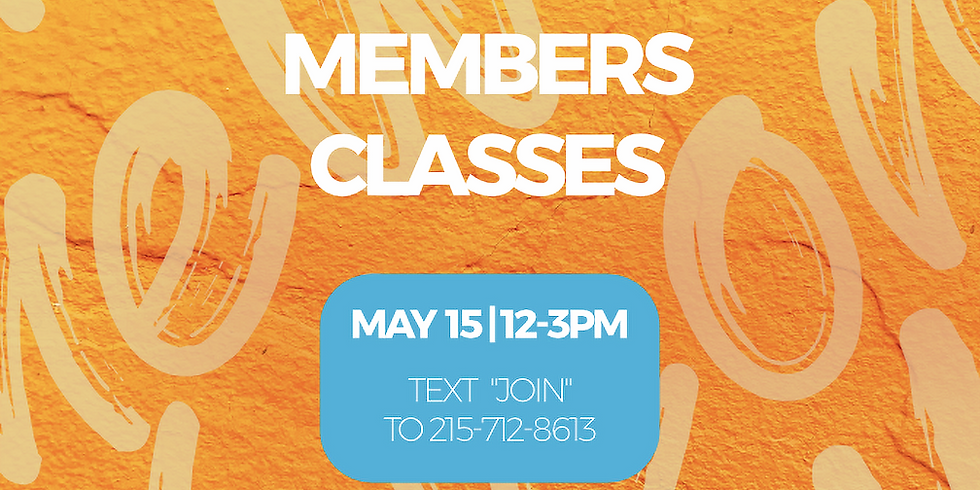 New Member's Class