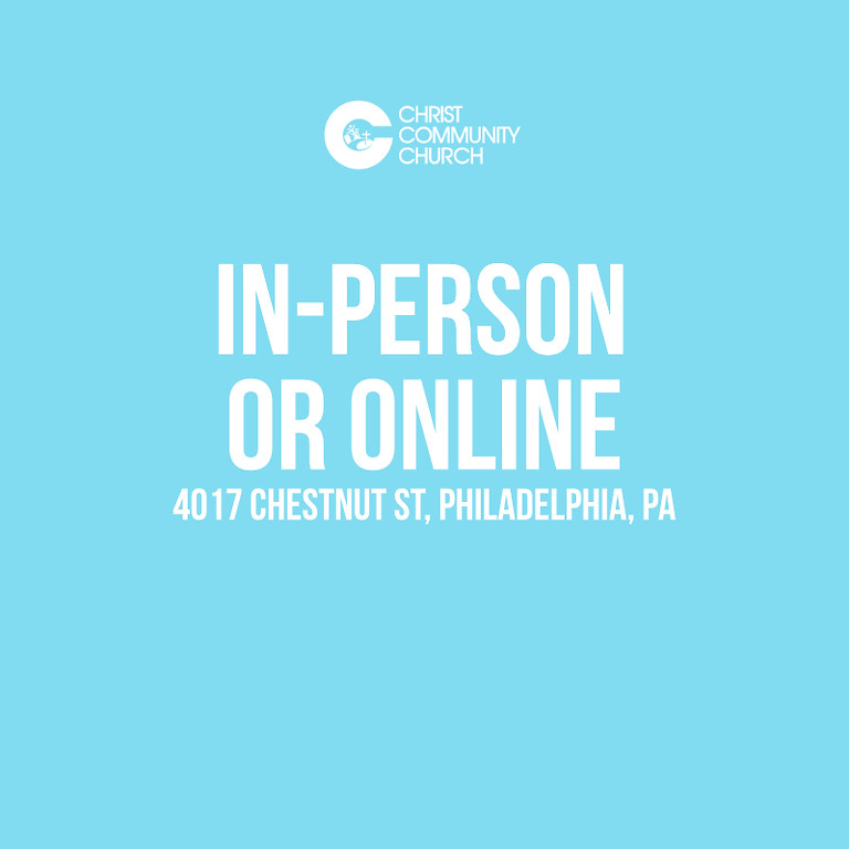 Sunday Service In-Person & Online