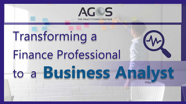 Transforming A Finance Professional to a Business Analyst