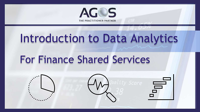 Introduction to Data Analytics for Finance Shared Services