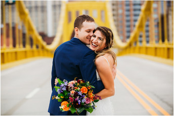Tori & Richard - Fairmont Hotel Pittsburgh Wedding Photos {Pittsburgh Wedding Photographer}