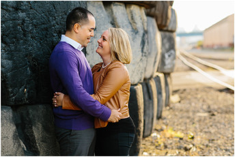 Kate & Vinny - Strip District Engagement Photos {Pittsburgh Engagement Photographer}