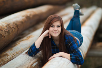 Brooke {Pittsburgh Senior Photos; Mingo Creek Park & South Park}