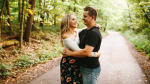 Brittany & Paul - Peters Lake Engagement Photos {Pittsburgh Wedding Photographer}