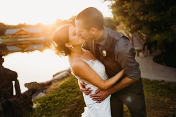 Kiersten & Brandon - Gathering Place at Darlington Lake Wedding Photos {Pittsburgh Wedding Photo