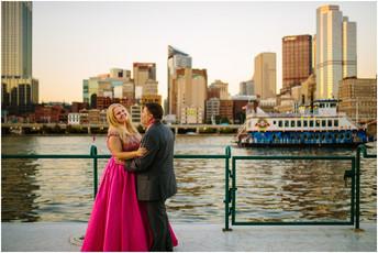 Carolyn & Mike - Gateway Clipper and Sheraton Station Square Wedding {Pittsburgh Wedding Photogr