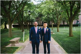 Zhanjie & Roger - Heinz Chapel & Union Hall/Bar Marco Wedding Photos {Pittsburgh Wedding Pho