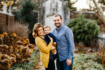 Mellon Park Fall Family Photos {Pittsburgh Family Photographer}