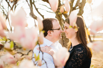 Kayla & Justin - Washington DC Cherry Blossom Engagement Photos {Pittsburgh Wedding Photographer