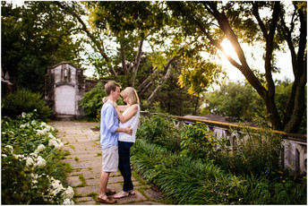 Kate + Brad | Mellon Park Engagement Photos