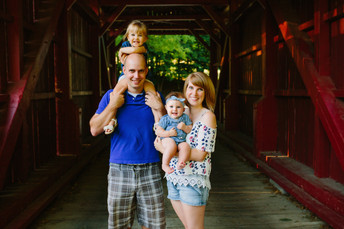 Mingo Creek Summer Family Photos - Amelia's 4mo. Photos {Pittsburgh Family Photographer}