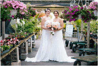 Alysha & Cassandra - Altoona Grand Hotel Wedding Photos {Pittsburgh Wedding Photographer}
