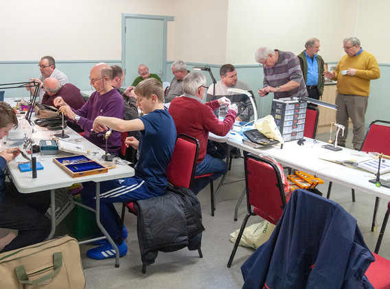 Rhyl and St Asaph Angling - New Year Fly Tying 2019 #4