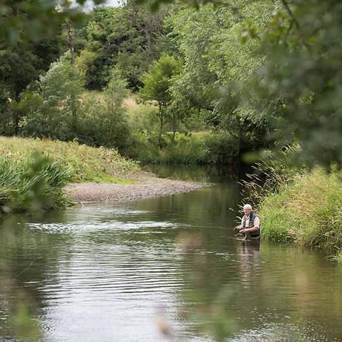 Rhyl St Asaph Angling - Wern Ddu beat on the river Clwyd, North Wales