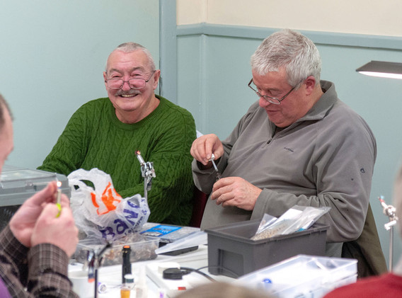 Rhyl and St Asaph Angling - New Year Fly Tying 2019 #5