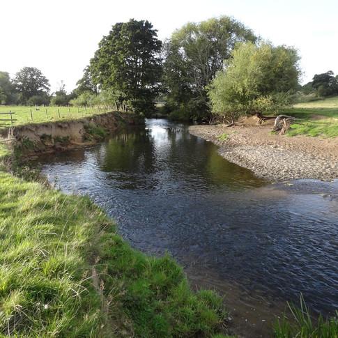 Ysgubor y Coed beat, River Clwyd