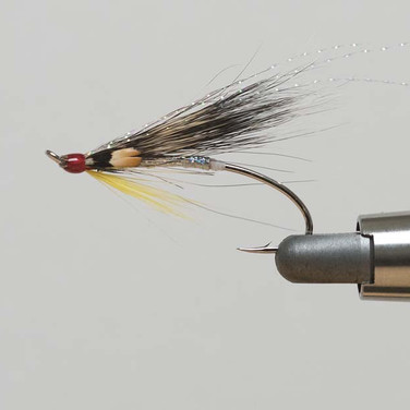Photo of The Cosseboom Variant - a sea trout fly tied by Richard Roberts of Rhyl & St Asaph Angling Association 2018