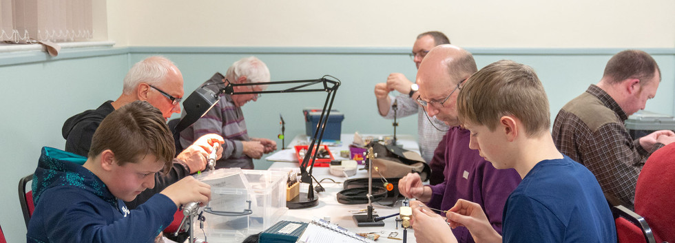 Rhyl and St Asaph Angling - New Year Fly Tying 2019 #3