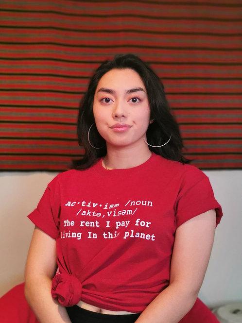 Red Activism T-shirt