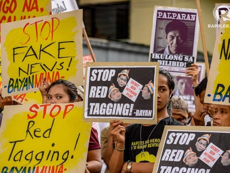 MIGRANTS WILL NOT BE SILENCED: STOP RED-TAGGING!
