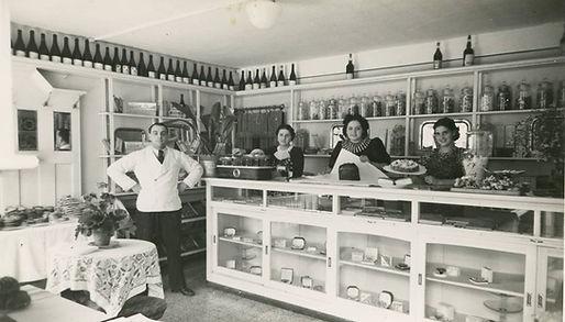 Negzio con Oliviero Filippini nel 1930