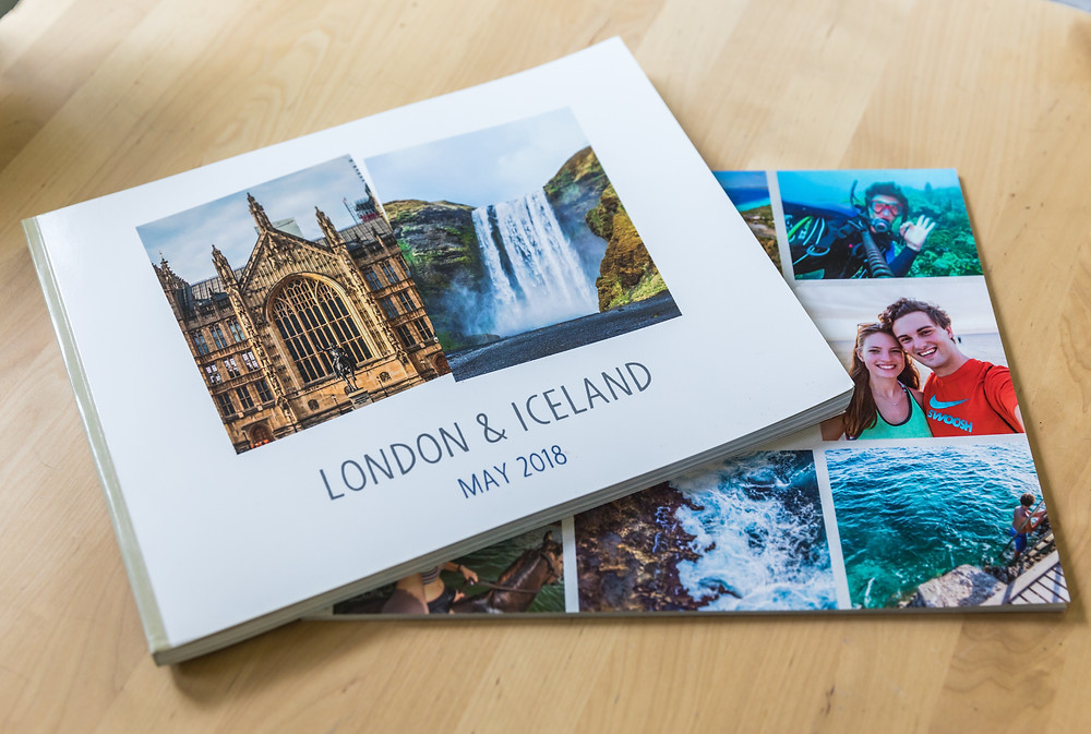 YBT London and Iceland Shutterfly Book