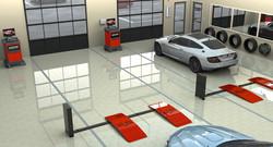 Panoramica impianto Quick Tread®