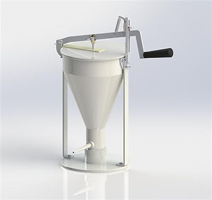 ハンドシューポンプ公式 シュークリーム機械