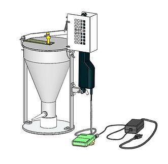シュークリーム注入器、電動シューポンプ