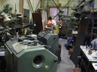 有限会社輪野機器製作所、現場風景