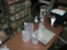 スタンドパウチ底開き補助装置