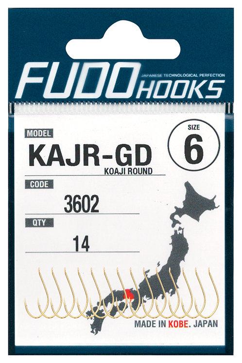 Крючки FUDO одинарный KAJR #10 Черный
