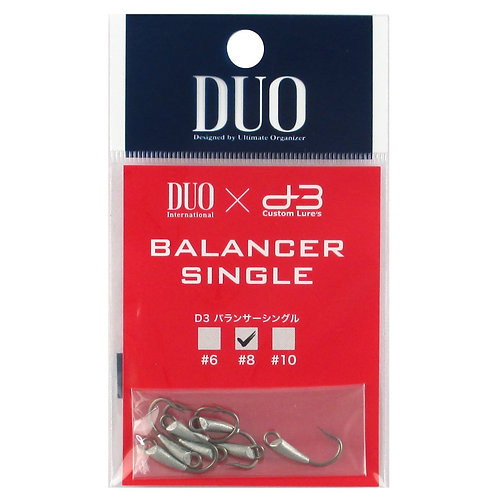 Крючки DUO RYUKI D3 BALANCER SINGLE HOOK