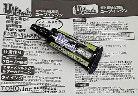 Клей TOHO UV-Resin Светонакопительный зеленый