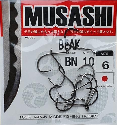 Крючки MUSASHI BEAK #6
