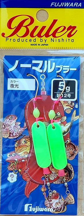 Снастьна навагу Fujiwara Normal Buler - Зеленый светонакопительный