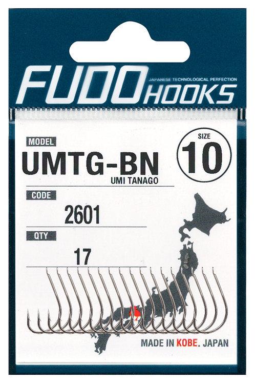 Крючки FUDO одинарный UMTG #13 Черный