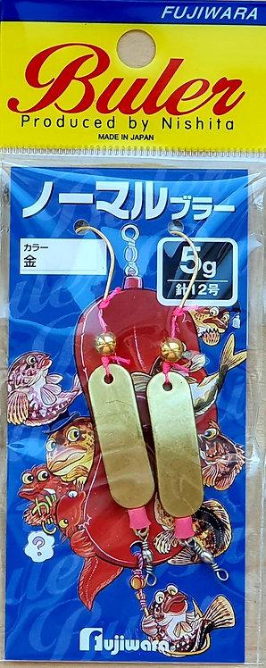 Снастьна навагу Fujiwara Normal Buler - Gold