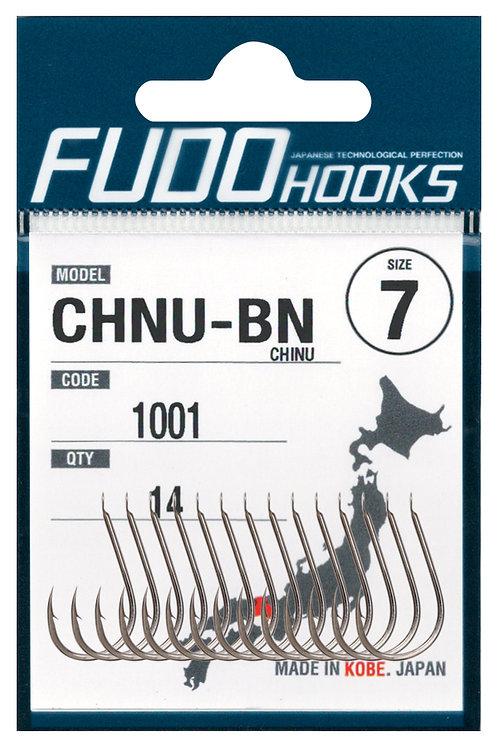 Крючки FUDO одинарный CHNU #14 Никель