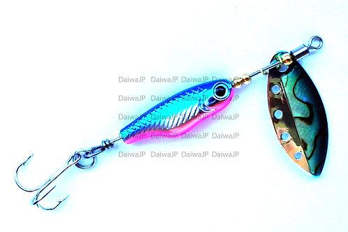 Блесна DAIWA SLIVER CREEK SPINNER Z 1060 ABALONE BLUE PINK