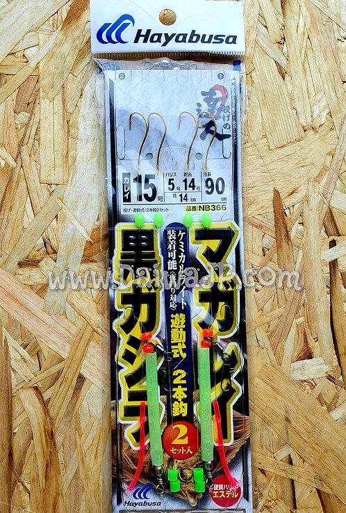 Снасть на камбалу Hayabusa NB-366 #15-5