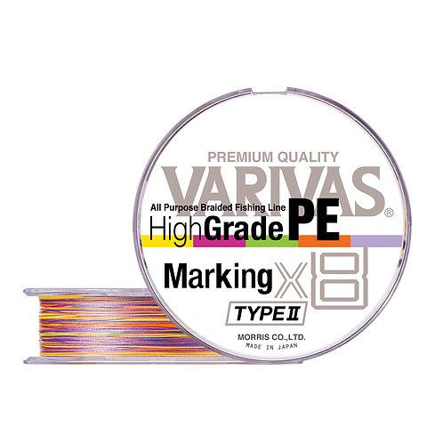 Плетенный шнур VARIVAS HIGH GRADE PE MARKING TYPE II X8 200МM