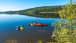 Kajak Åresjön