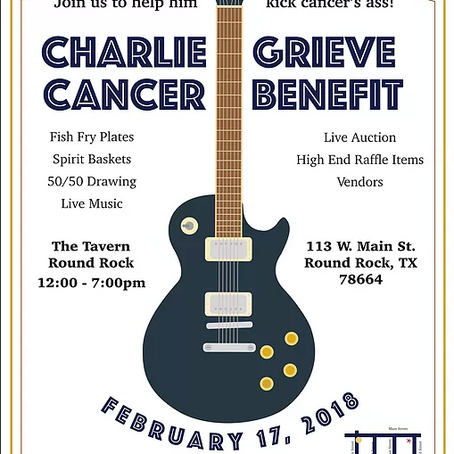 Cancer Benefit for Charlie Grieve