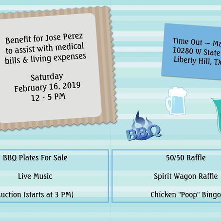 Benefit for Jose Perez