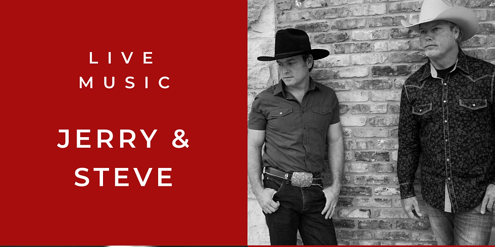 Live Music by Jerry & Steve