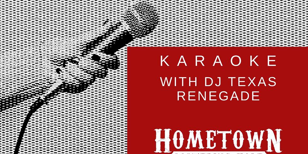 Karaoke at Hometown Watering Hole